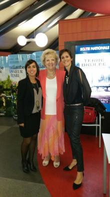 Avec Lise Bourbeau - 2015