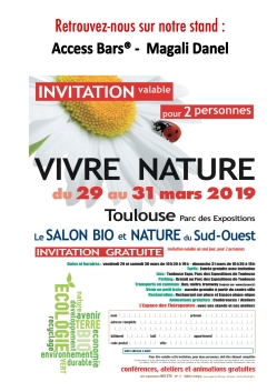 invitation salon vivre nature 2019 - Magali Danel