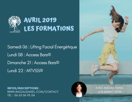 Agenda Formations Avril 2019 Magali Danel